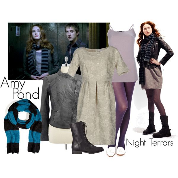 """""""Amy Pond - Night Terrors"""" by ansleyclaire on Polyvore"""