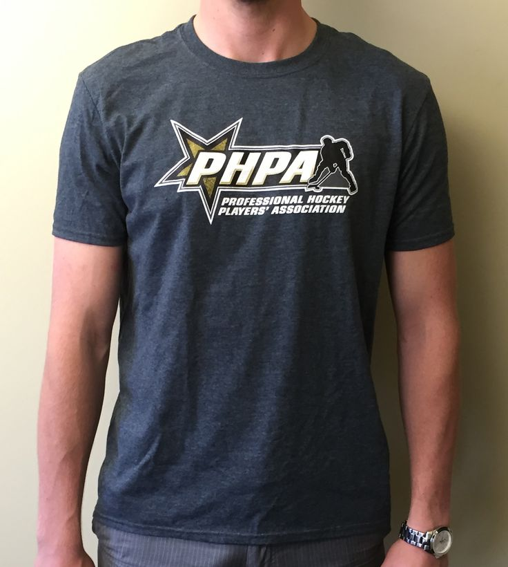 PHPA T-shirt provided to all players attending the 2015 PHPA Annual Meeting of Player Representatives.