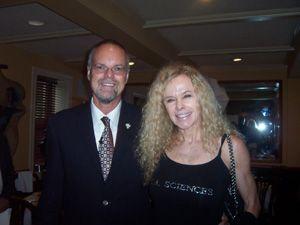 Dr. Bill Andrews and Greta Blackburn