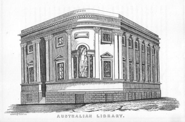 Australian Library Sydney 1848