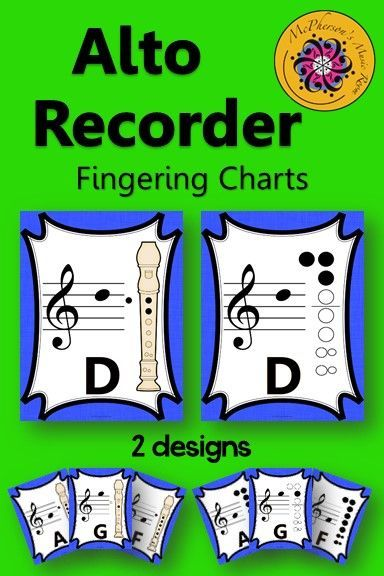114 best Elementary Music Recorder Resources images on Pinterest - recorder finger chart