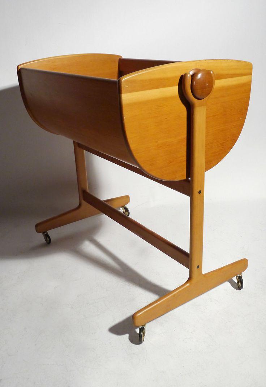 best  scandinavian cradles and bassinets ideas on pinterest  - wooden cradle  bassinet designed by nanna ditzel