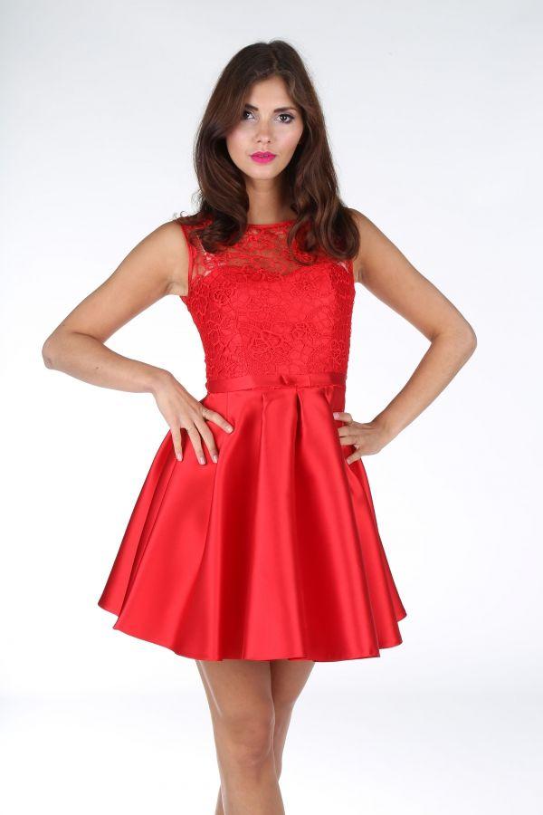 Sukienka koktajlowa rozkloszowana zamowienia: www.facebook.com/zofix