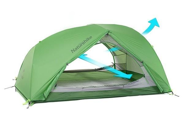Naturehike-Tente-2-places-pour-2-personnes-imperméable-camping-résistante-au-vent-wind-stopper-2-Person-tent-Camping-winter-Tent-Waterproof-20D- Silicone- Fabric-Double-layer-4-seasons-PU4000mm-Ultralight