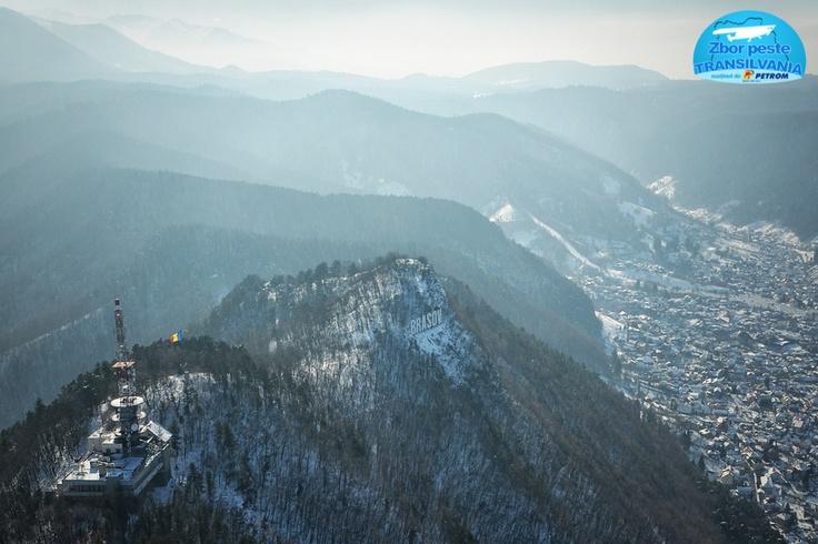 Winter in Brasov - Flight over Transylvania  www.zborpestetransilvania.ro :-)