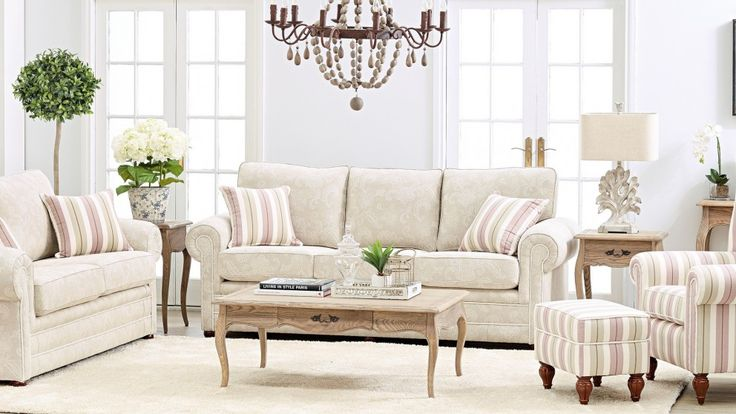 Alma 3 seater fabric sofa lounges living room - Harvey norman living room furniture ...