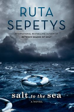 """Discover what New York Times Bestselling Author Ruta Sepetys has to say about her new historical fiction novel """"Salt to the Sea"""" in a brief Q&A at Katsyxo.com + enter to win a free copy of the book!"""