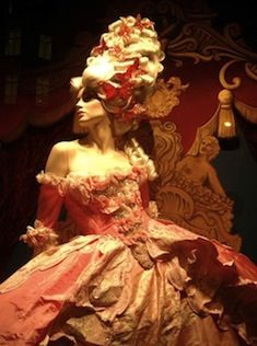 Masquerade costume ball gown