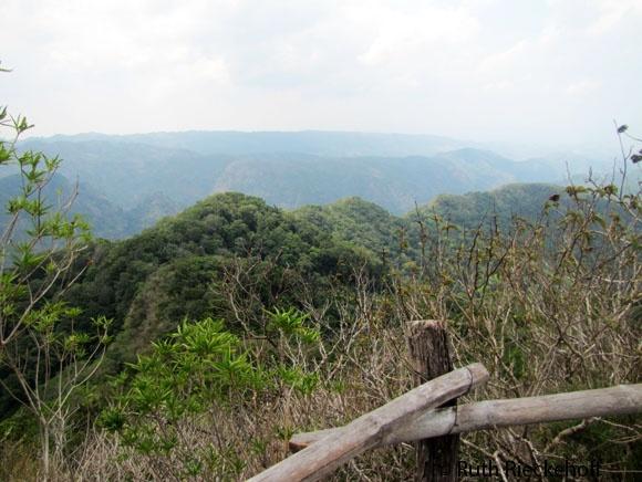 View from the top of Cerro El Leon, El Imposible National Park, El Salvador