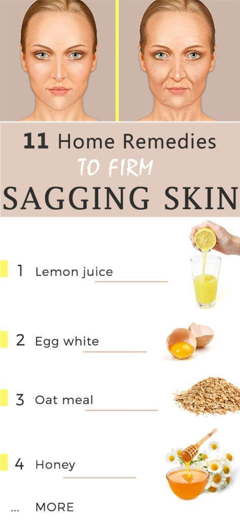 11 home remedies for sagging skin