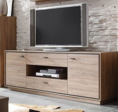 die besten 25 lowboard eiche ideen auf pinterest. Black Bedroom Furniture Sets. Home Design Ideas