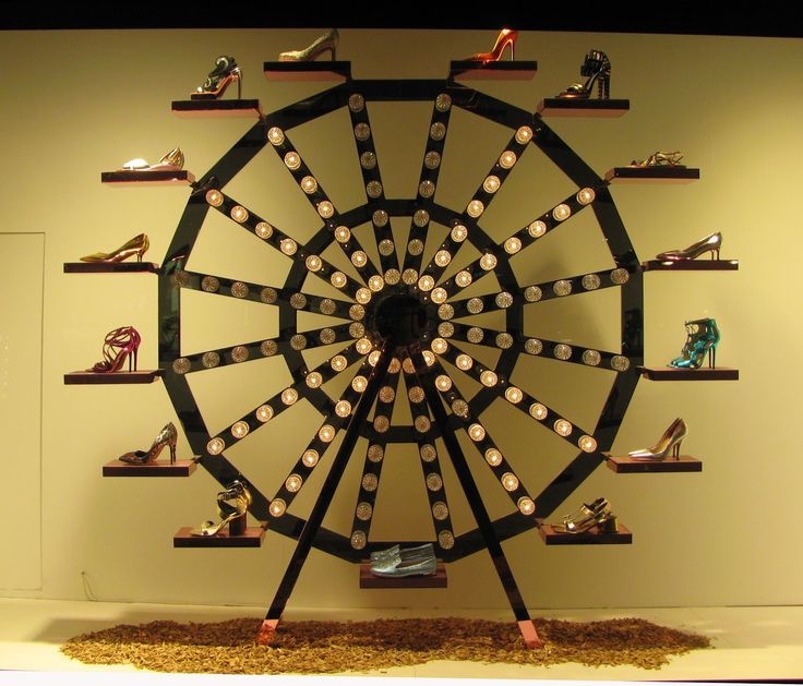 Shoe Carnival at Selfridge, London. #retail #merchandising #windowdisplay
