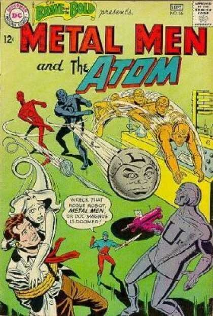 The Brave and the Bold 55 Metal Men and The Atom Silver Age DC Comics