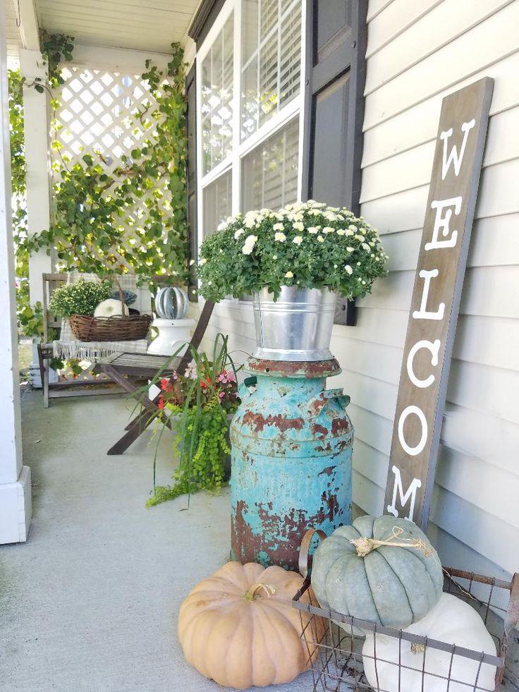 Fall Porch Decor, front porch decorating ideas