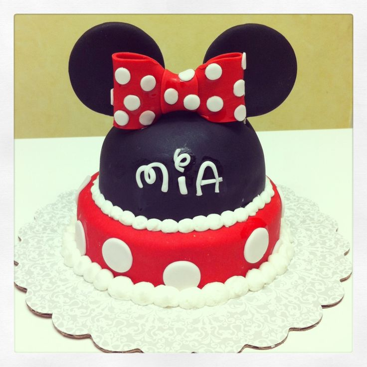 ... Twin Birthday Cakes on Pinterest  Minnie mouse cake, Birthday cakes