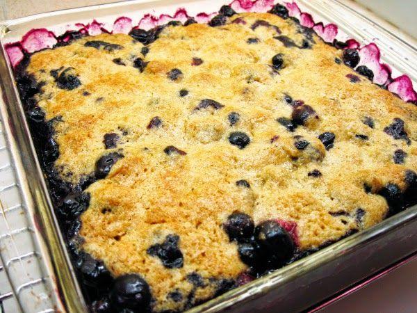 Mom's Recipes: Blueberry Cobbler recipe