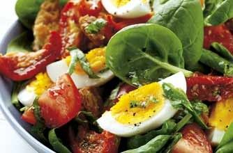 Eating to get pregnant - fertility diet lunch recipes.