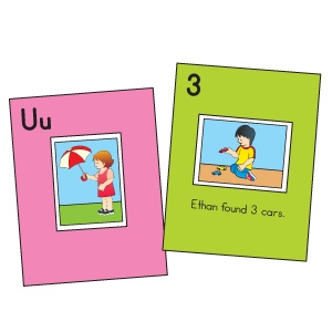 Class Book Ideas: letters and numbers