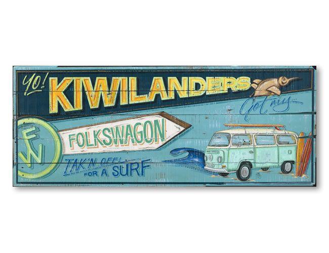 Yo! Kiwilanders - Folkswagon