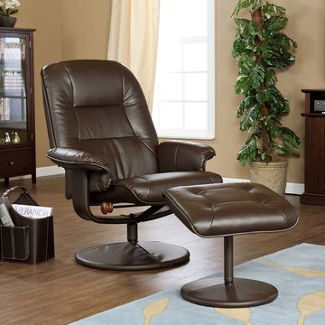 Win a Leather Recilner and Ottoman for Father's Day!! #Giveaway