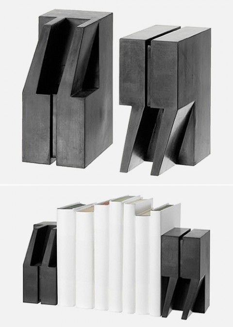 """Bookend """"this is a way to esvaziar your creativity"""""""