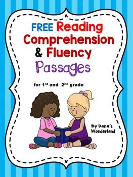 Free Reading COMPREHENSION and FLUENCY Passages - This product contains three  reading passages that you can use to practice reading fluency and comprehension.They are offered in 2 formats so you can pick the format that works best for you.The students will:*read the passage 3 times and color a star after each reading (for fluency)*answer 3 comprehension questions by coloring (highlighting) the sentences within the text that contain the answer to those questions*draw a picture that matches…