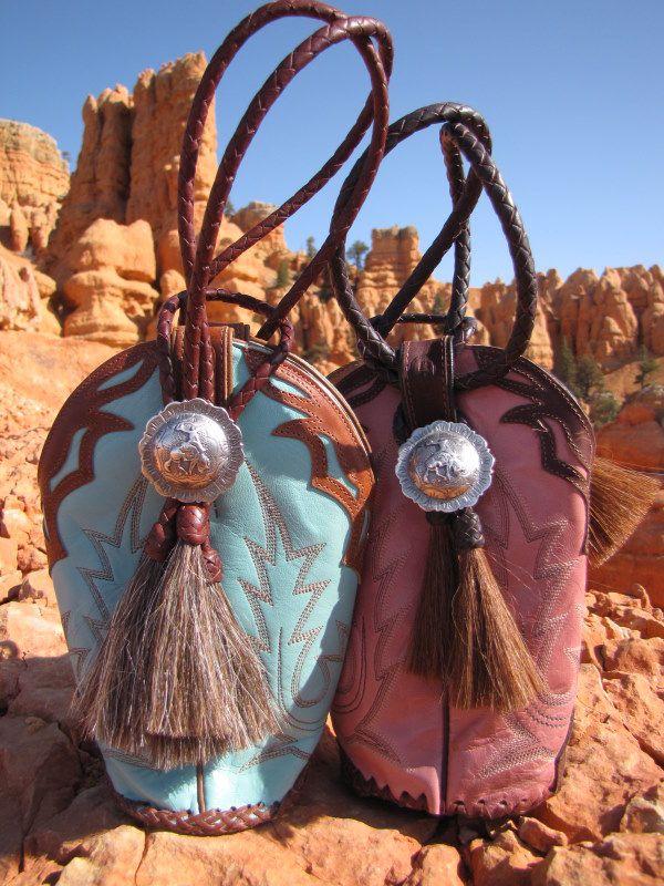 Boot purses.