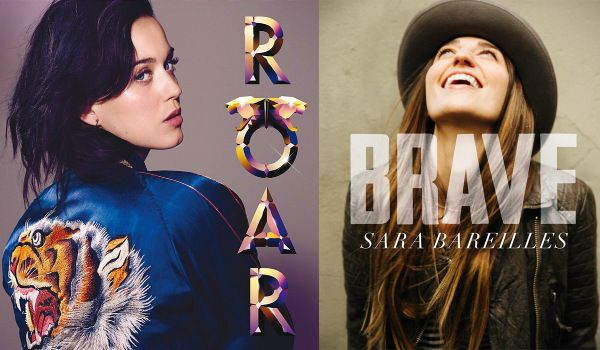 Katy Perry accused of copying Sara Bereilles's single Brave
