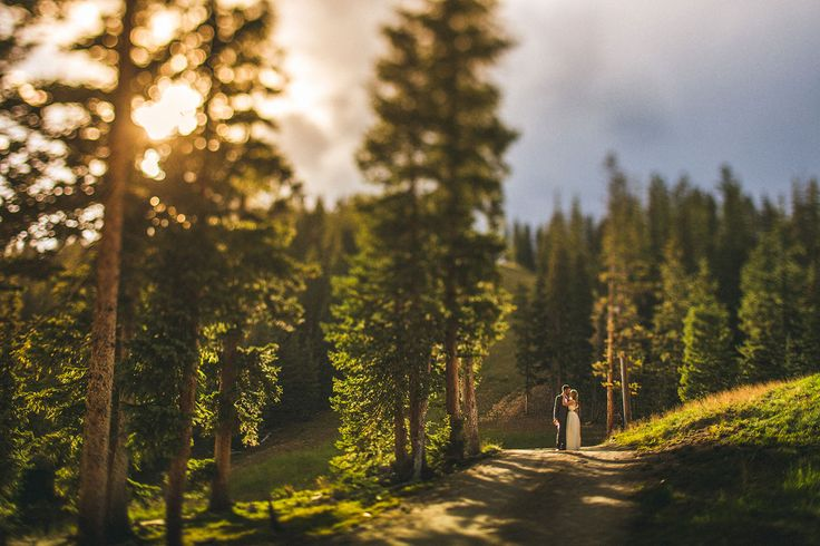 Kelly and David's stunning wedding up in Keystone, CO at the Timber Ridge on top of the Rocky Mountains. The hail had been coming down pretty hard shortly before this photo was taken. Such intense weather for a Summer Wedding.   Photo Tips and Info: Camera: 5D Mark iii Lens: Canon 45mm f/2.8 Tilt Shift All editing was done in Adobe Lightroom 5
