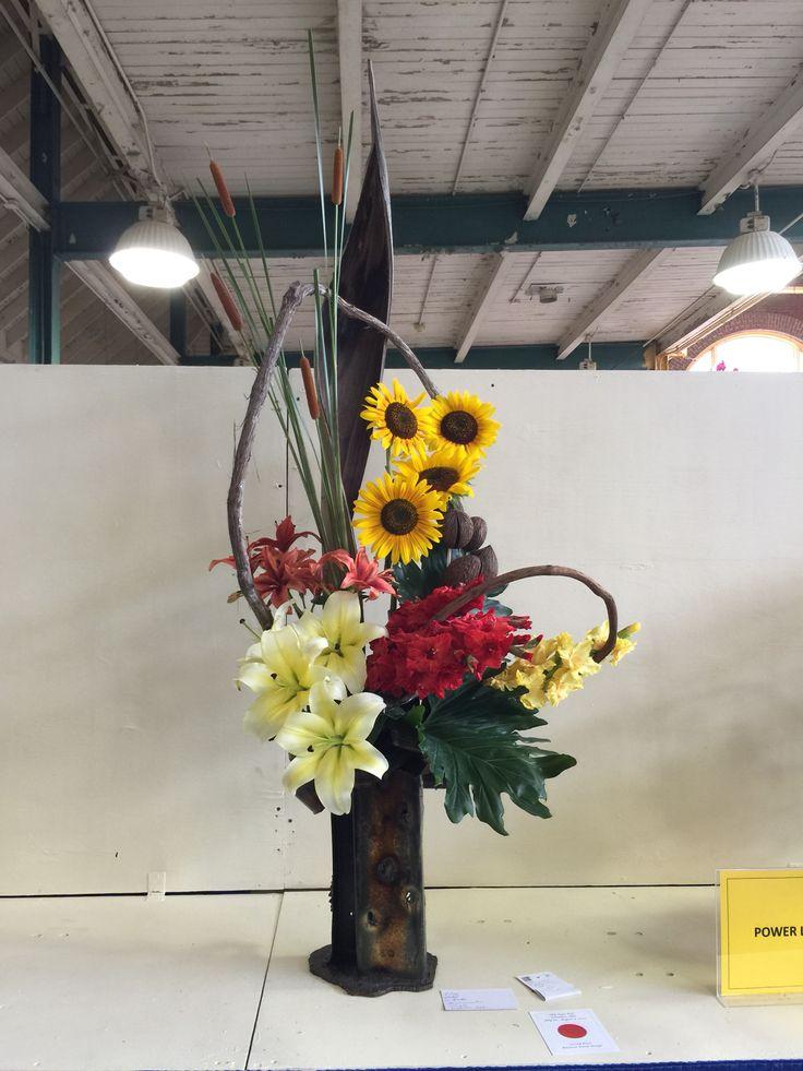 Best hanging floral designs images on pinterest