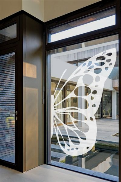I just discovered some really cool wall art @walltat. It's do-it-yourself wall decals for kids and adults.  Check it out! #walltat, #DIY, #interiors Butterfly Wing -Glass Decal #walldecals, #walltat