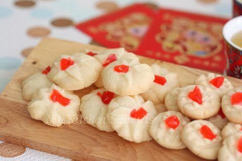 Daisy Cookies (aka Biskut Dahlia)