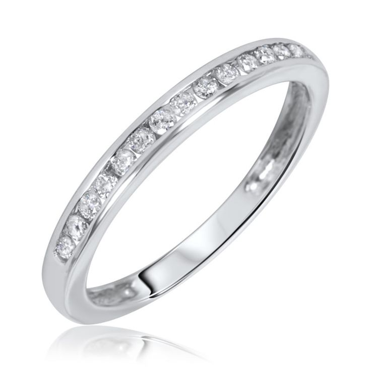 Awesome White Gold Wedding Rings Women With Womens 2017 Bands Tw Diamond