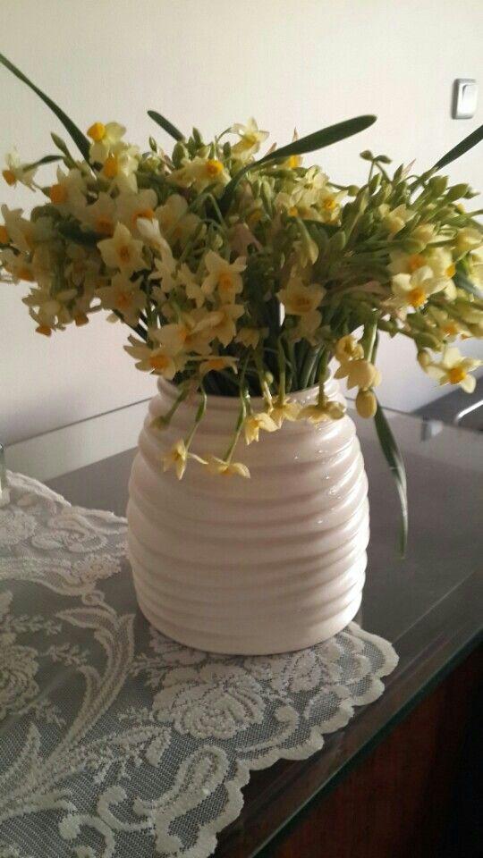 Nergiz çiçeği...kokusuna doyamadigim..