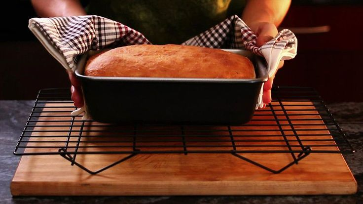 How to Make Homemade Bread. Might give this a try