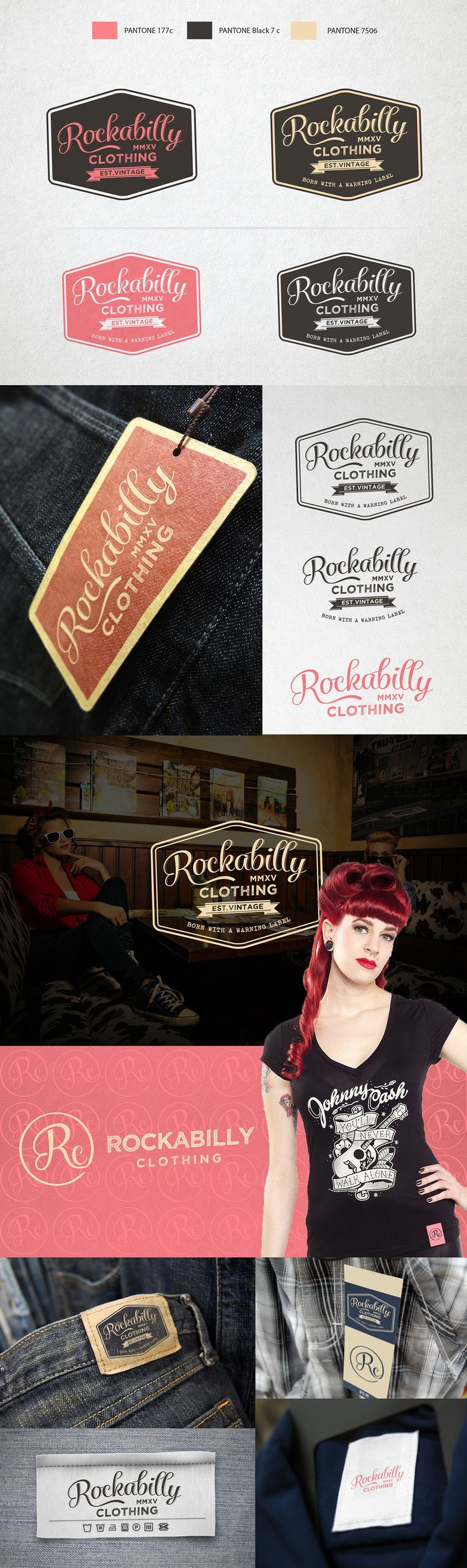 Logo for Rockabilly Clothing