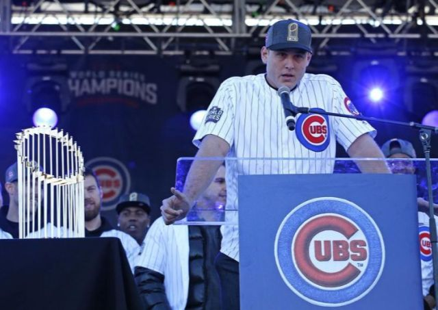 No joke: Reynolds Wrap changes its name in Chicago after losing bet to Anthony Rizzo