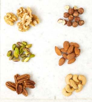 Few Nutty (Healthy) Facts!!  Researchers have found that people who regularly eat nuts are lesser prone to cardiac diseases.