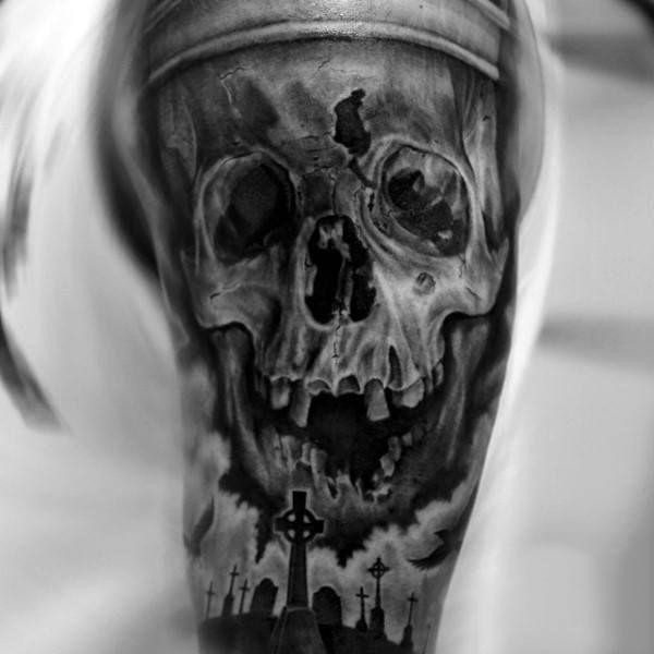 17 best ideas about graveyard tattoo on pinterest mirror tattoos vintage mirror tattoo and skulls. Black Bedroom Furniture Sets. Home Design Ideas