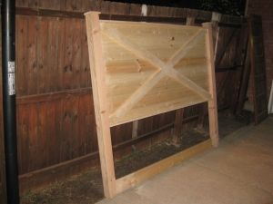 Barn door style Vintage Headboard made to fit a king or queen size bed image by FriscoShabbyChic - Photobucket by Vintage Headboards
