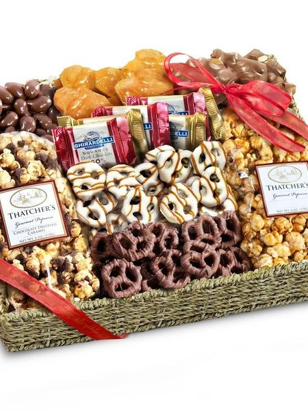 Chocolate, Caramel and Crunch Grand Gift Basket