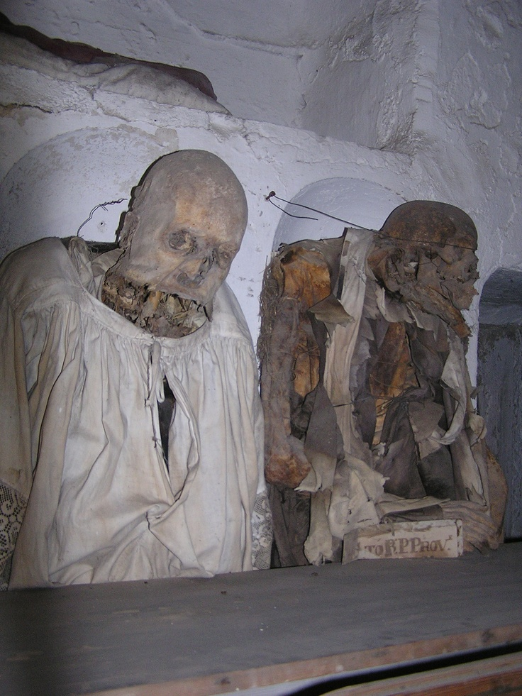 catacombs of the capuchins palermo much more creepy than