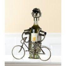 Wijnfleshouder/ bierfleshouder fietser