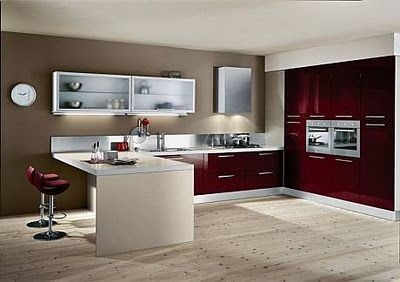 41 best images about cocinas integrales on pinterest for Imagenes de cocinas integrales modernas