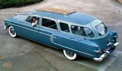 53 Pakard station wagon by Henney coachworks..Re-pin..Brought to you by #CarInsurance #EugeneOregon and #HouseofInsurance