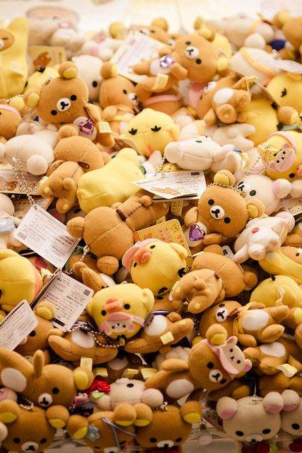 Japanese famous Rilakkuma toys