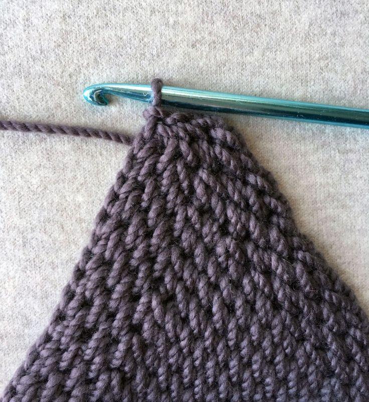 1340 besten Tunisian Crochet Bilder auf Pinterest | Tunesisch häkeln ...