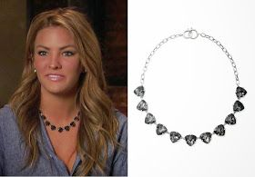 Becca Tilley on The Bachelor Finale in Stella & Dot's Somervell Necklace