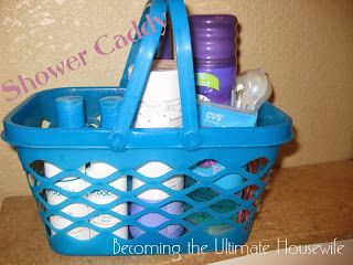Becoming the Ultimate Housewife: Too Much Stuff In The Shower!