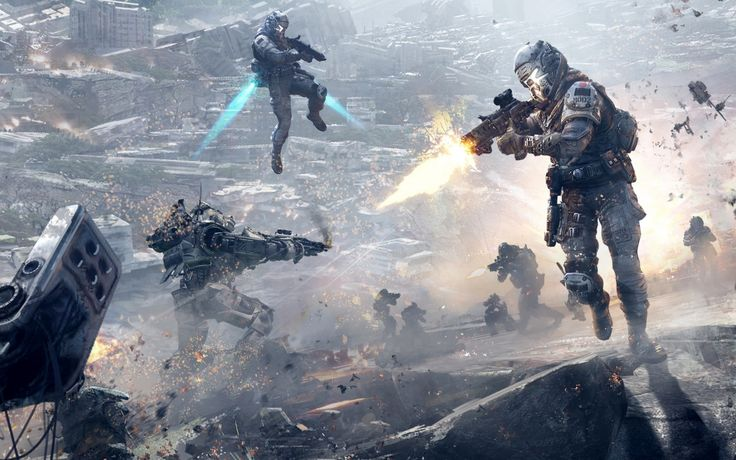 Titanfall Game Wallpapers in HD K and wide sizes